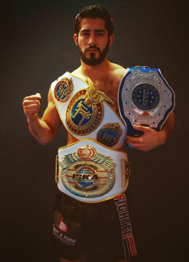 FIGHT N FORM - Edouard Bernadou - Champion du monde de boxe